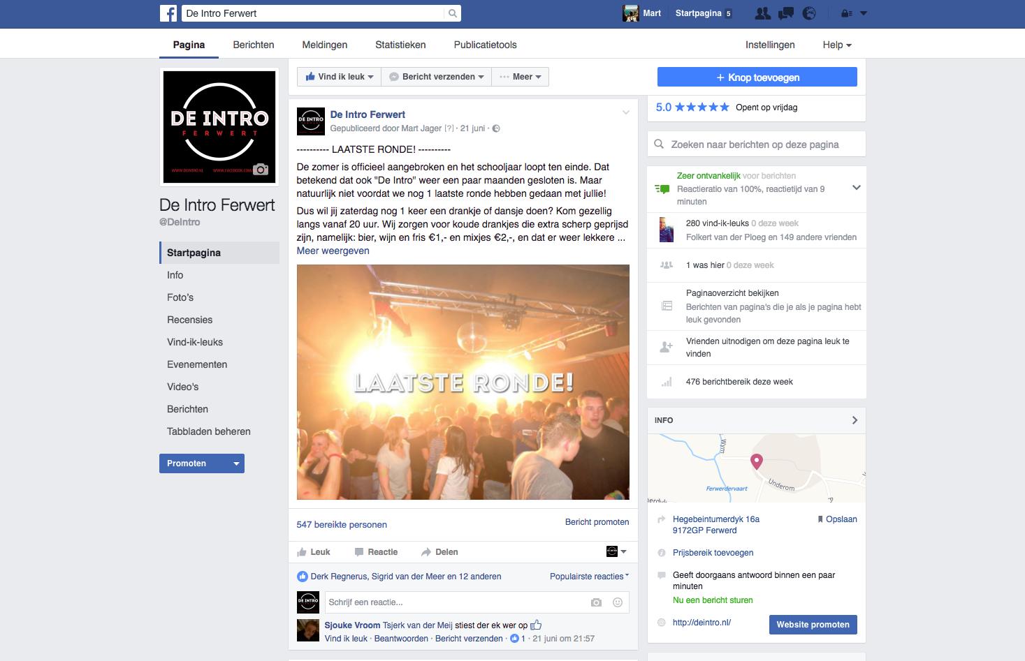 Facebook De Intro - MartJager.nl