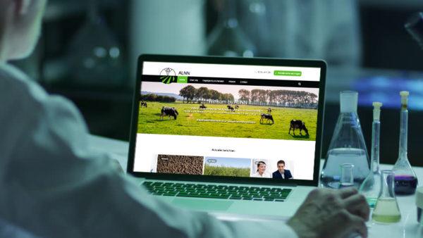 Website Agrarisch Laboratorium Noord-Nederland